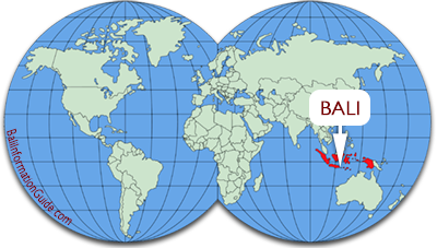 bali world map